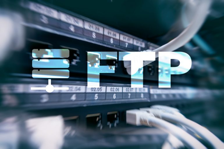 FTP file transfer root